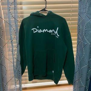 green diamond supply co hoodie